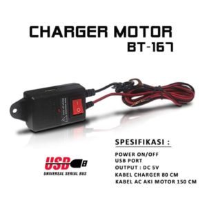Charger HP Aki Motor Portable