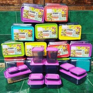 Toples Calista Otaru Smoke 1 Set Isi 14 Pcs