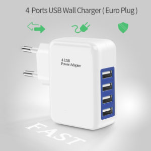 Adaptor Charger 4 Port USB