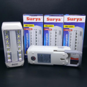 Lampu Emergency LED Surya Rechargeable 22 SMD LED