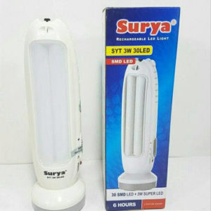 Lampu Senter Emergency LED Surya Rechargeable 30 SMD LED