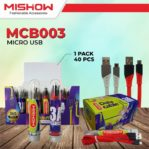 [PROMO] Kabel Data 3A Fast Charging MISHOW By Advance Micro USB 1 Meter