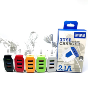 Adaptor Charger 3 Port USB 2.1A
