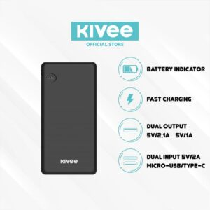 Powerbank Kivee KV-PB25 10000mah Fast Charge