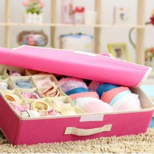 Storage Box Tempat Penyimpanan Pakaian Dalam dan Bra