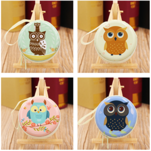 Dompet Tempat Penyimpanan Koin OWL