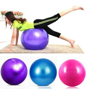 Gym Ball Bola Yoga Fitnes 65 cm (GRATIS Pompa Angin Manual)