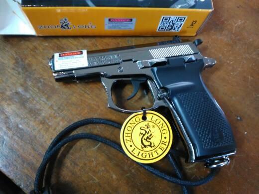 Korek Api Gas Pistol Browning 9 mm Unik   Grosir Cirebon
