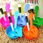 Mangkok Masker Kosmetik Warna Mask Bowl 1 Set