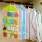 Pouch Gantung 16 Sekat Tempat Celana Dalam Serbaguna