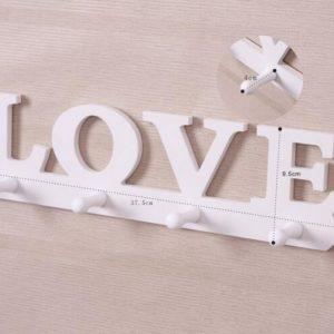 Rak Gantung LOVE Hiasan Dekorasi Shabby Chic 496