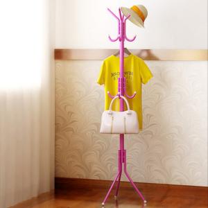 Standing Hanger Rak Gantungan Pakaian Baju Tas Topi Serbaguna