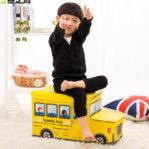 Storage Box BUS Kotak Penyimpanan Mainan Unik Serbaguna