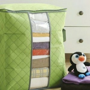 Storage Organizer Bag Pakaian Box Tempat Baju Tinggi