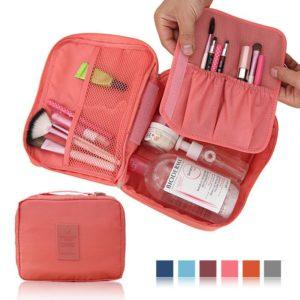 218 Tas Kosmetik Travel Bag Organizer Tas Travelling Multifungsi