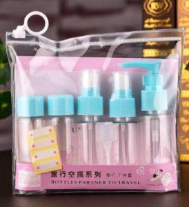 Botol Traveling 1 Set Tempat Perlengkapan Mandi