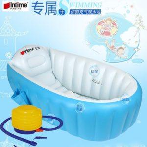 Paket Intime Baby Bath Tub Bak Tempat Mandi Bayi Portable (GRATIS POMPA)