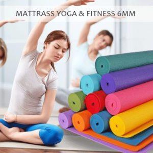 Matras Senam Yoga Karpet Olahraga Gym (GRATIS Sarung / Tas)