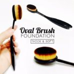 Kuas Make Up Oval Brush Foundation