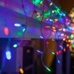 (RAINBOW 4 WARNA) Lampu Tumblr 10 Meter LED Kerlap Kerlip