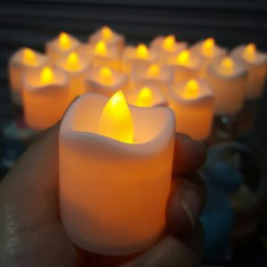 Lilin Elektrik LED MODEL BARU