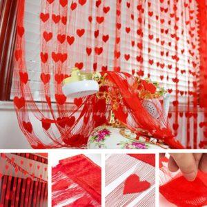 Tirai Benang Baichuan Motif LOVE