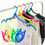Hanger Lipat Gantungan Baju Portable