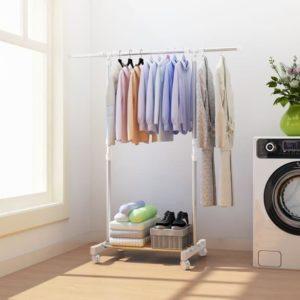 Standing Hanger Single Rak Gantungan Pakaian Baju Serbaguna