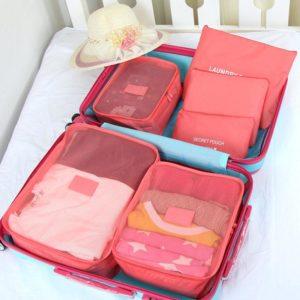 Tas Travel Organizer 1 Set isi 6 Pcs