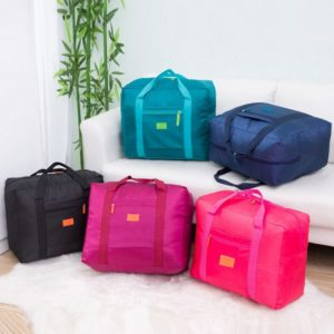 233 Tas Travel Lipat Koper Nylon Anti Air
