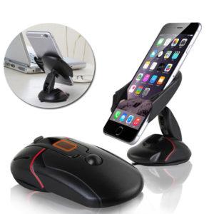 Tempat HP Mobil Bentuk Mouse