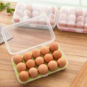 Box Tempat Telur 15 Lubang