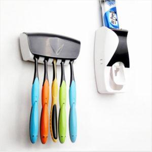 Dispenser Odol dan Tempat Sikat Gigi Model Baru