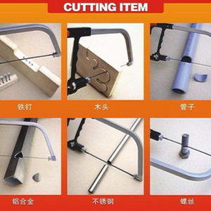 Gergaji Tangan Multifungsi (Pemotong Kayu, Besi dan Pipa)