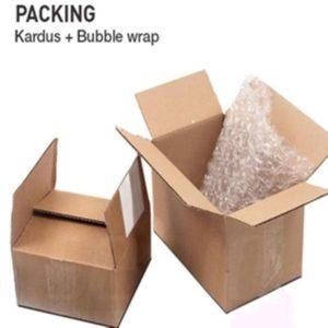 EXTRA PACKING 3 IN 1 (BUBBLE WRAP + KARDUS + PLASTIK)