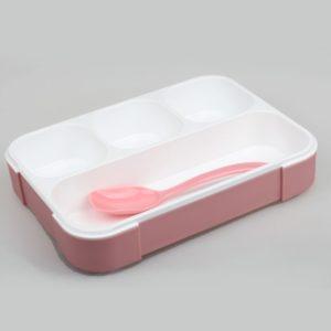 578 Lunch Box YooYee ANTI TUMPAH Kotak Makan Sup 4 Sekat Bento