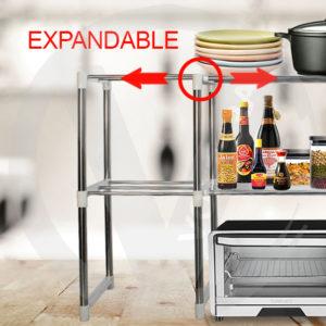 Rak Microwave / Oven 2 Susun Serbaguna