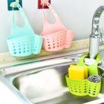 [Versi 2] Tempat Sabun Cuci Piring, Spons, Sikat Serbaguna
