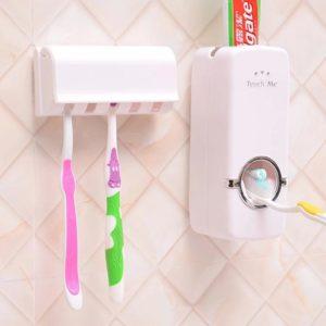Dispenser Odol dan Tempat Sikat Gigi