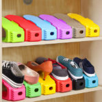 Shoes Organizer – Tempat Penyimpanan Sepatu Susun Penghemat Tempat