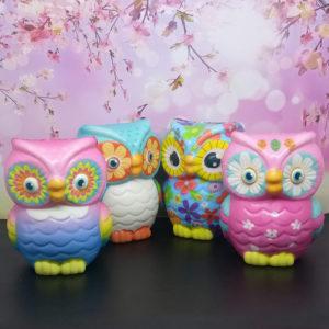 Squishy OWL / Burung Hantu Besar – Mainan Anak