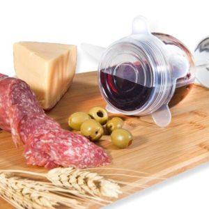 Food Cover 6 in 1 – Penutup Makanan Elastis