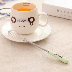 Alat Pengocok Telur Mini Gagang Keramik