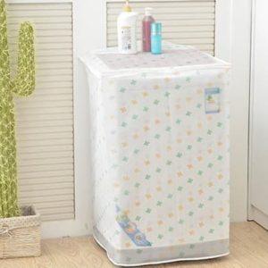 Tutup Cover Pelindung Mesin Cuci 1 Tabung Bahan PEVA