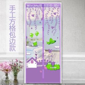 Tirai Pintu Magnet KEROPI Anti Nyamuk