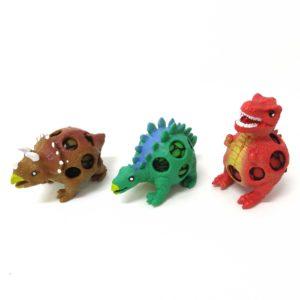 Squishy Mesh Ball Dinosaurus Mainan Anak