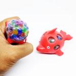 Squishy Mesh Ball Dolphin Mainan Anak