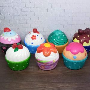 Squishy Cup Cake – Mainan Anak