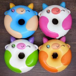 Squishy Donat Tanduk – Mainan Anak