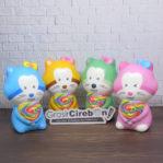 Squishy Tupai Candy – Mainan Anak